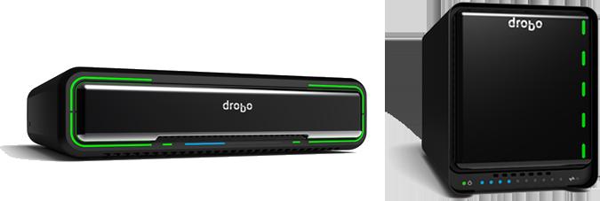 Drobo Mini e Drobo 5D com Thunderbolt