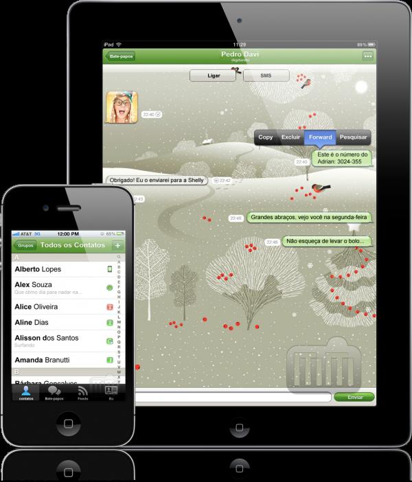 ICQ Messenger - iPad e iPhone