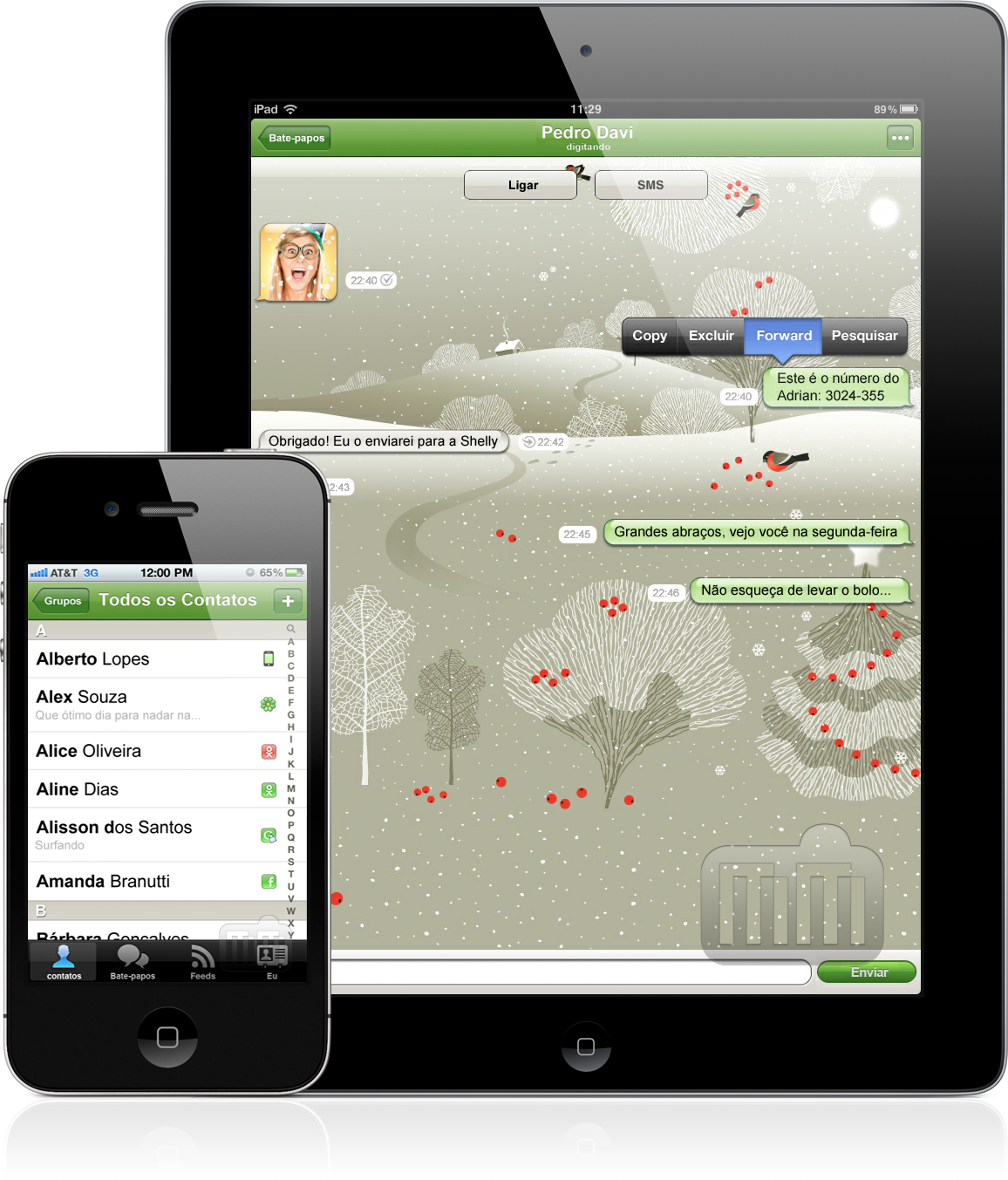 ICQ Messenger - iPad e iPhone