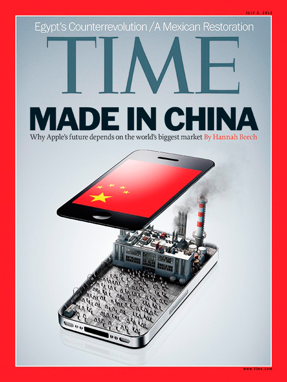 Apple e China na TIME