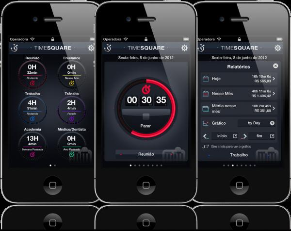 Timesquare - iPhones