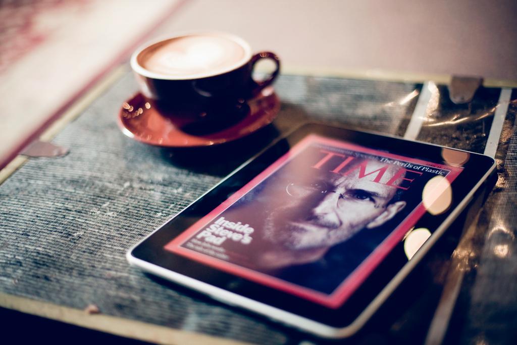 Café e iPad