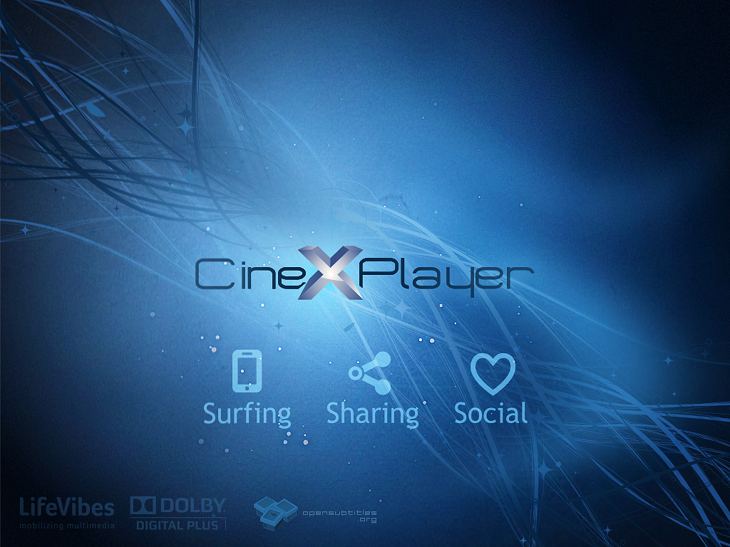 CineXPlayer para iPad