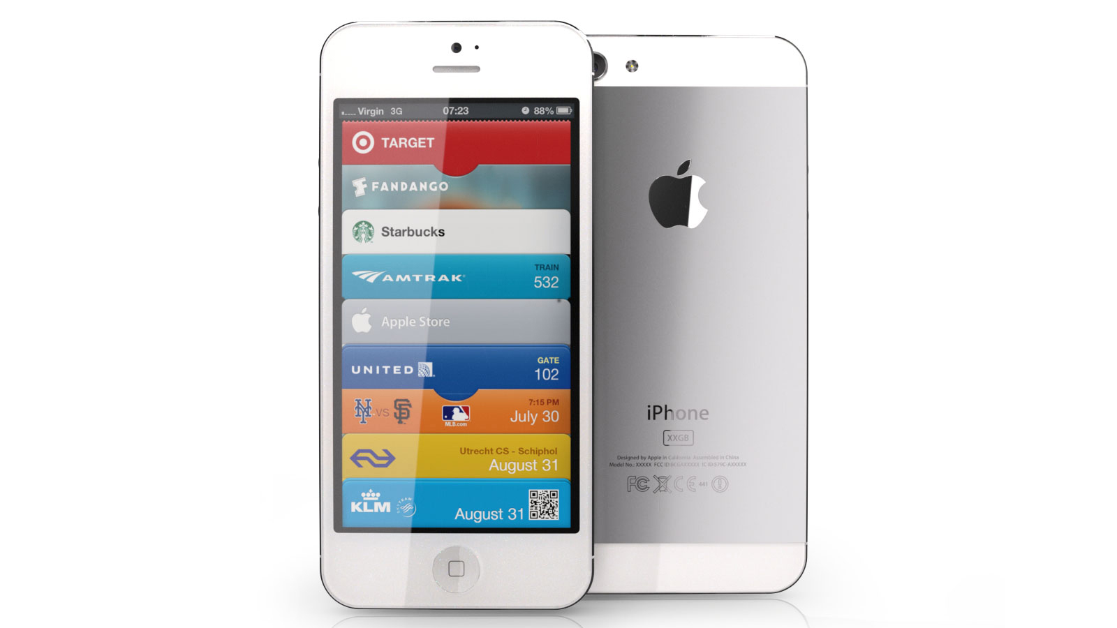 Mockup do novo iPhone