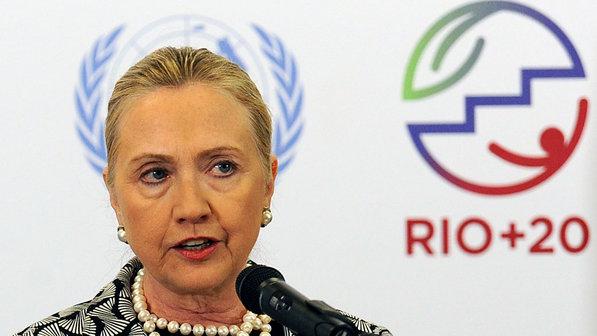 Hillary Clinton no Rio+20