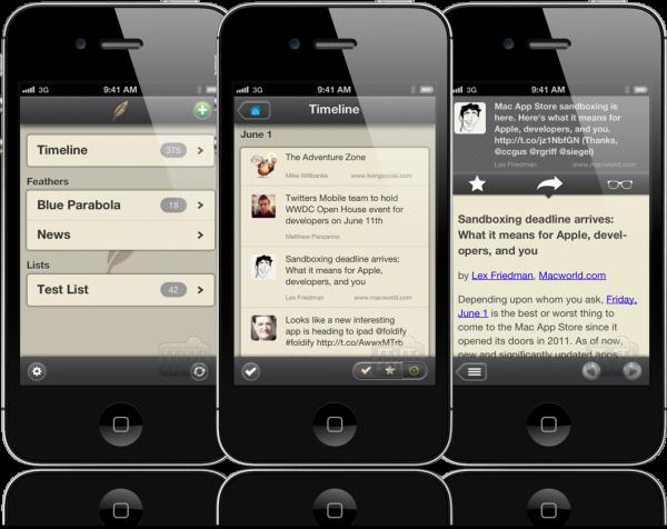 Plume - iPhones