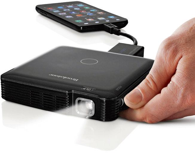 Brookstone - HDMI Pocket Projector