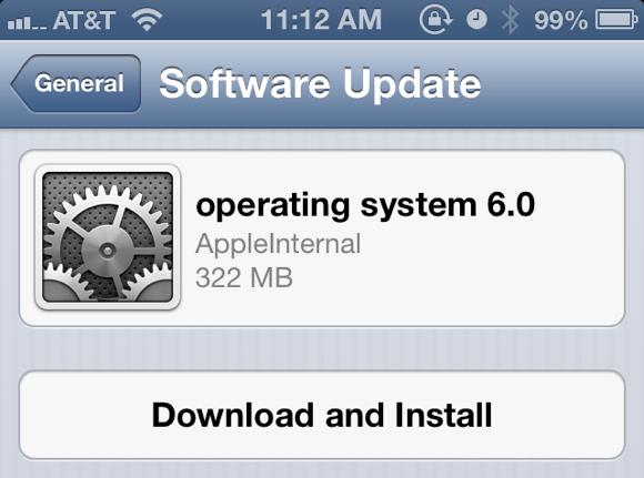 Beta 2 do iOS 6