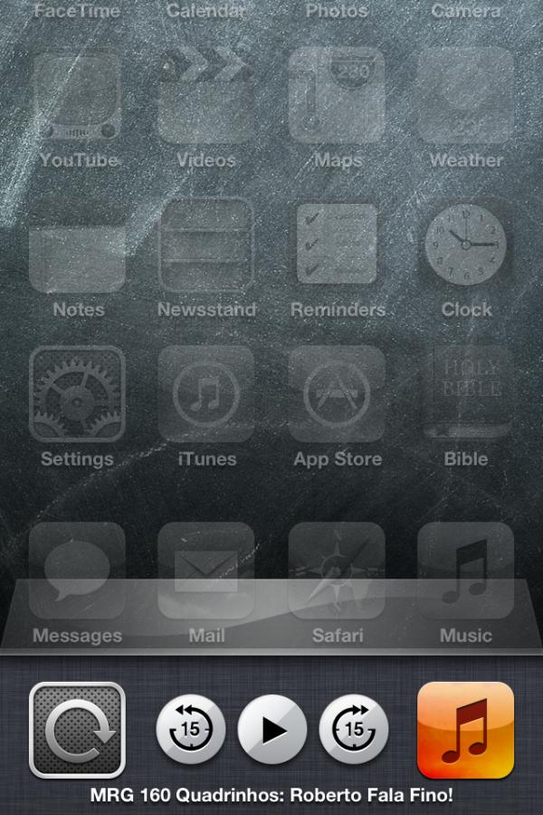 Controle de podcasts no iOS 6
