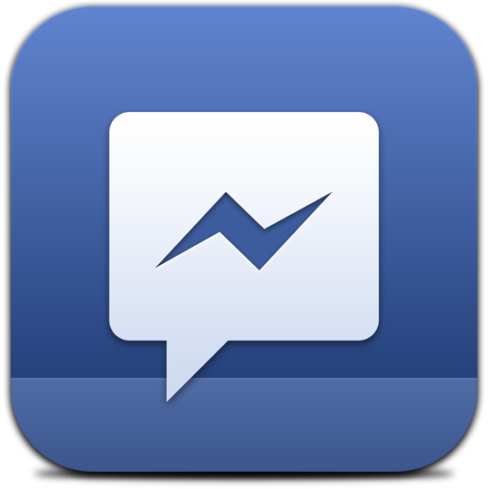 Ícone - Facebook Messenger
