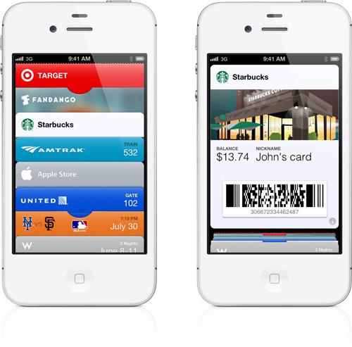 Passbook no iOS 6