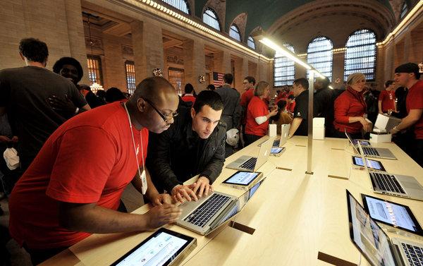 Empregados - Apple Retail Store
