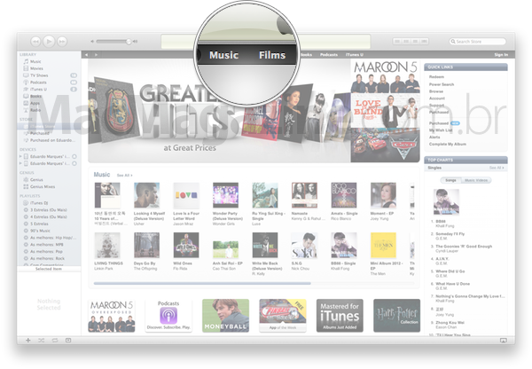 iTunes Store - Hong Kong