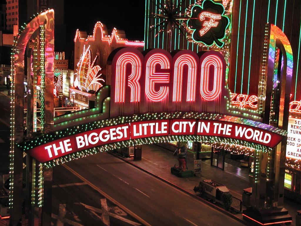 Entrada de Reno, Nevada