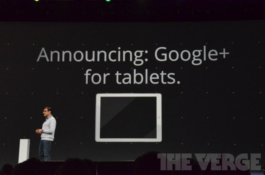 Google+ para tablets