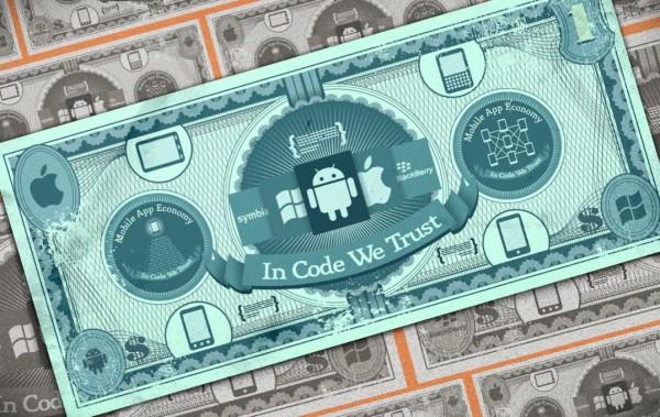 Dólar da VisionMobile - apps mobile