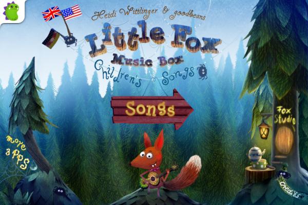 App Little Fox Music Box