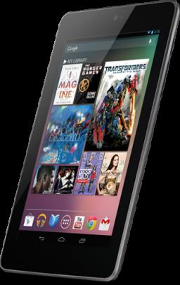 Tablet Nexus 7, do Google e da ASUS