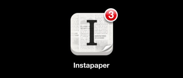 Banner do Instapaper