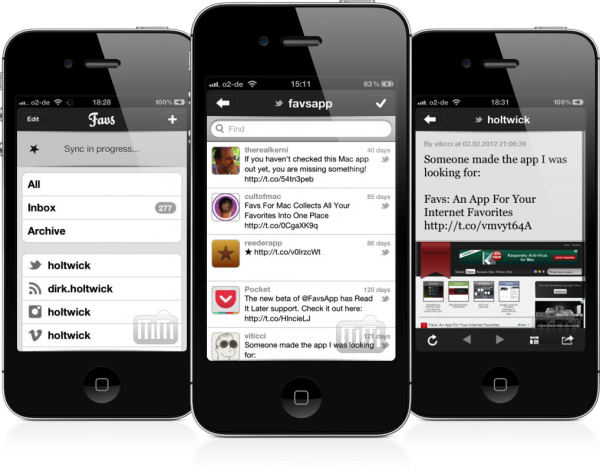Favs (iOS)