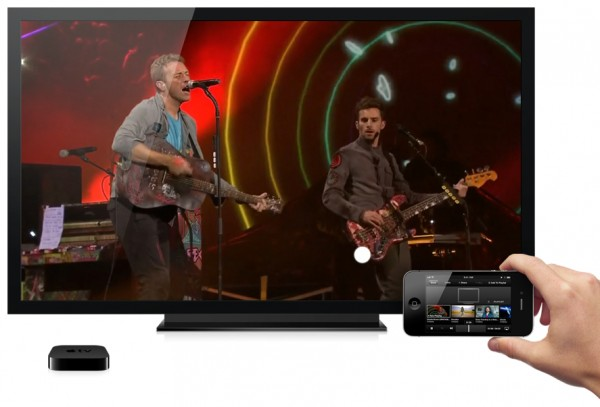 """Apple TV com AirPlay em """"dual screen"""""""
