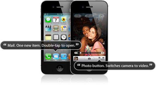 Acessibilidade - iPhone
