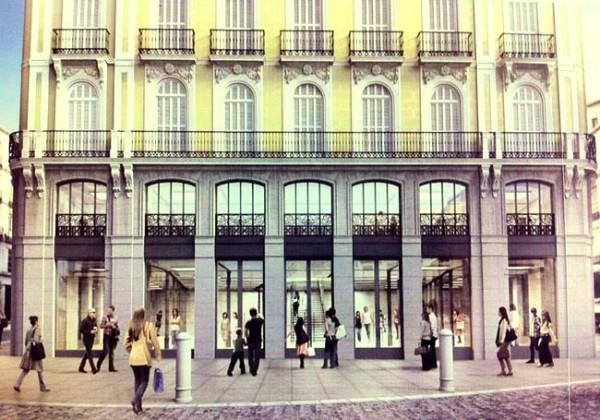 Futura Apple Store em Madrid, na Espanha