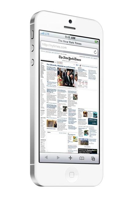 Mockup do novo iPhone (branco)