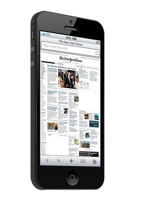 Mockup do novo iPhone (preto)