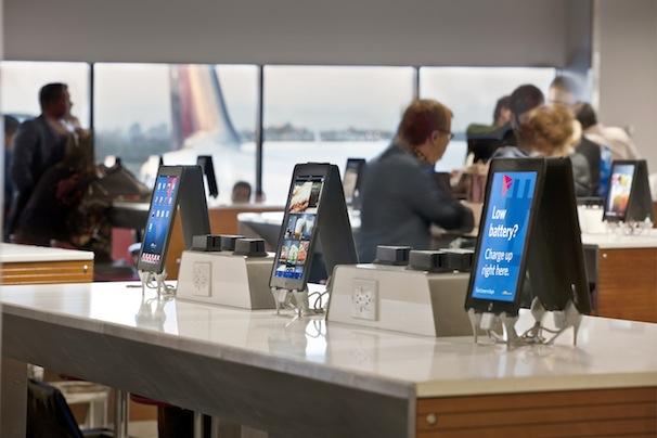 iPads em aeroportos