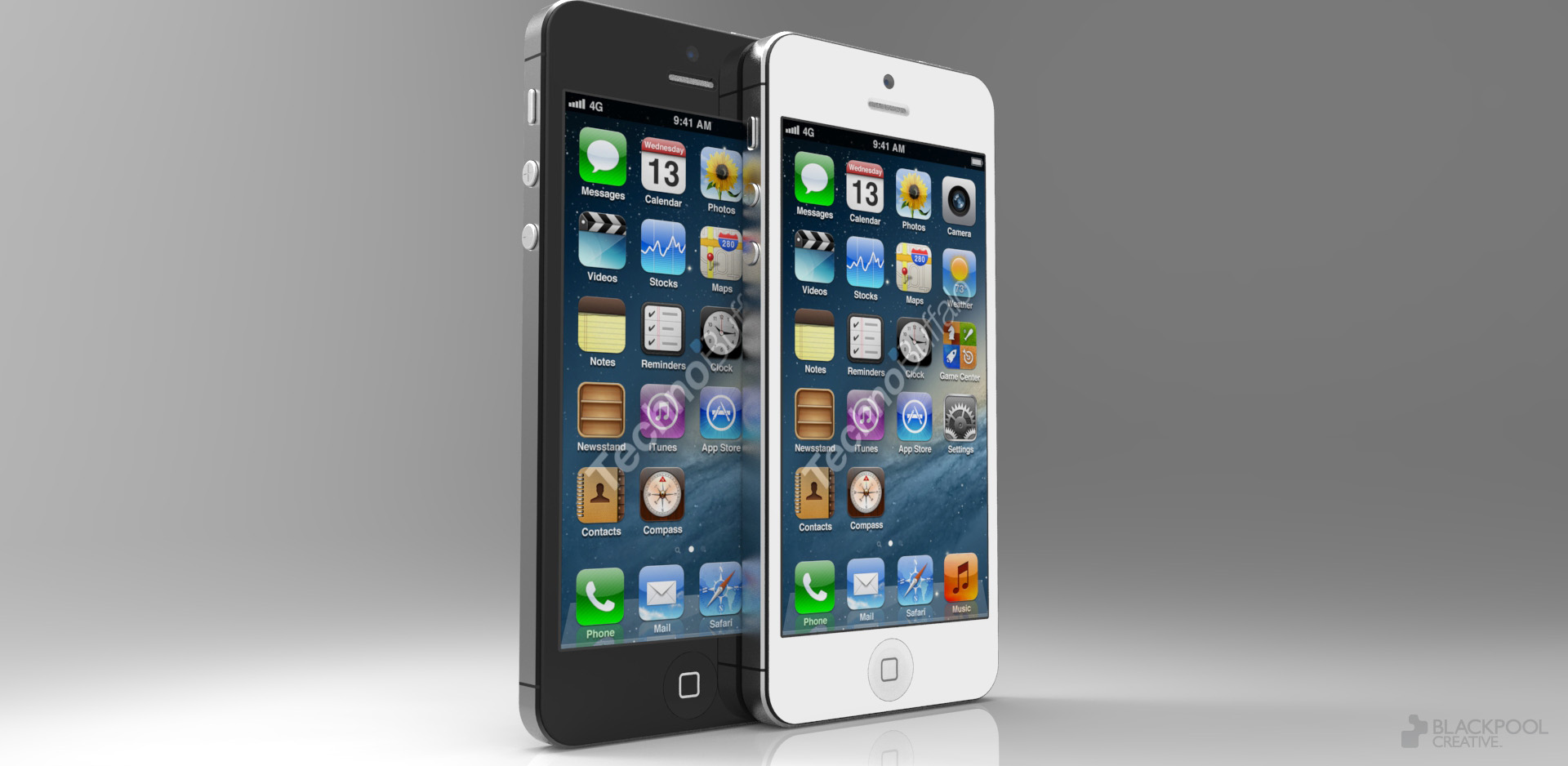 Mockup do novo iPhone, baseado nos recentes rumores
