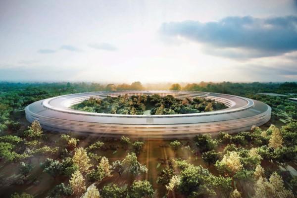 Projeto do novo campus da Apple, em Cupertino