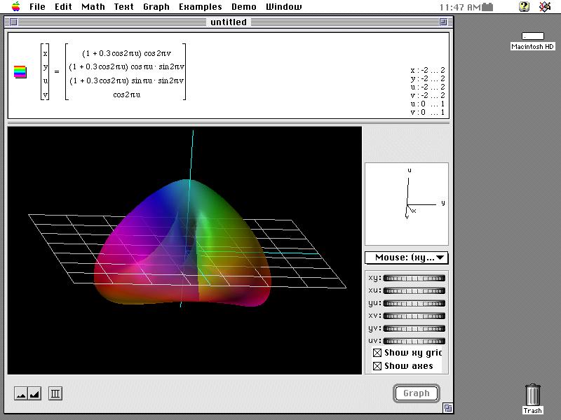 Graphing Calculator no Mac OS Clássico