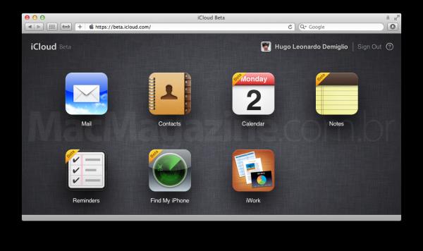 iCloud.com - Início