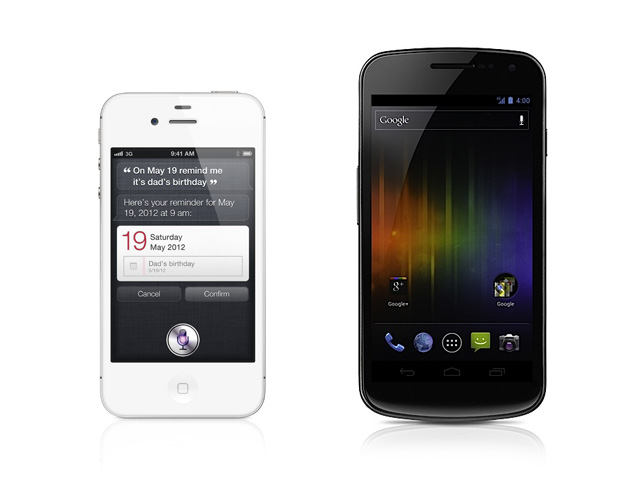 iPhone 4S vs. Samsung Galaxy Nexus