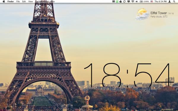 Live Wallpaper - Mac OS X