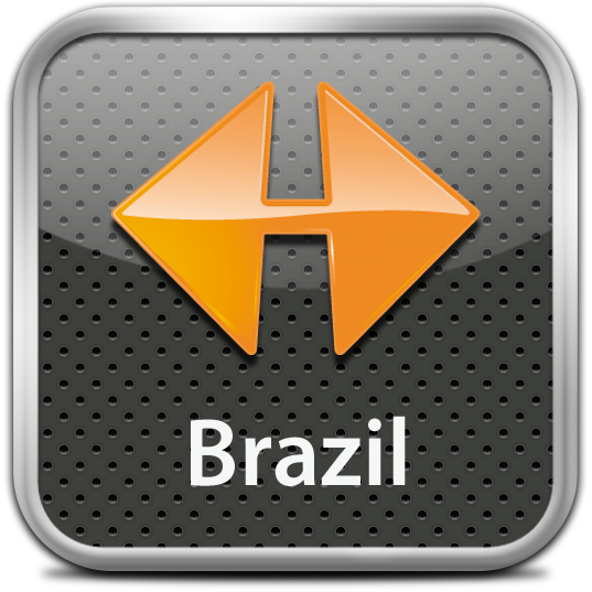 Ícone do NAVIGON Brazil