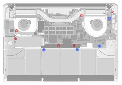 Sensores de umidade no MacBook Pro