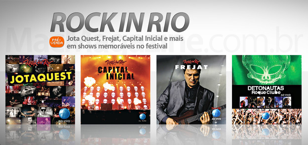 Rock In Rio 2011 na iTunes