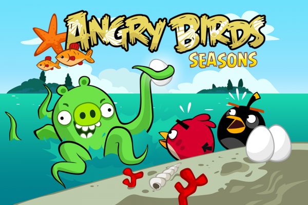 Jogo Angry Birds Seasons
