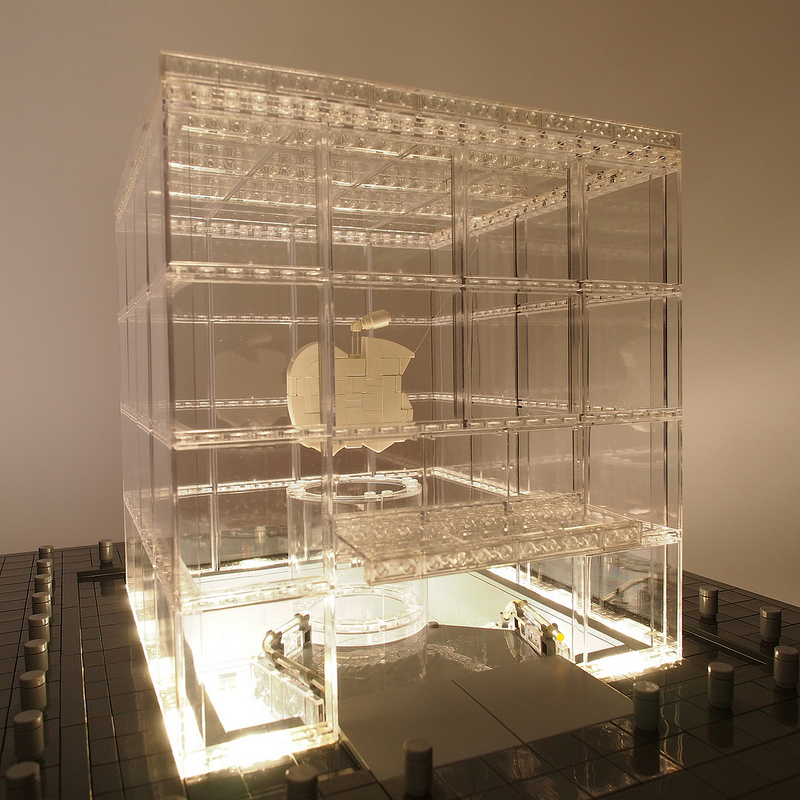 Apple Store, Fifth Avenue feita de LEGO