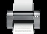 Ícone de impressora do OS X