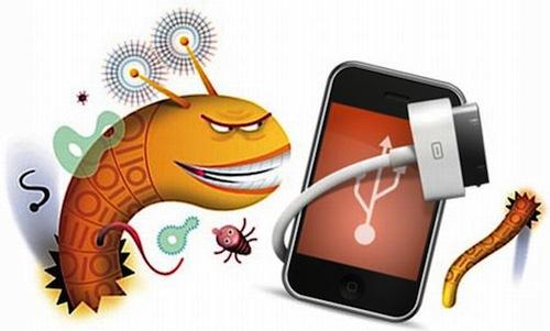 Malware em iPhone