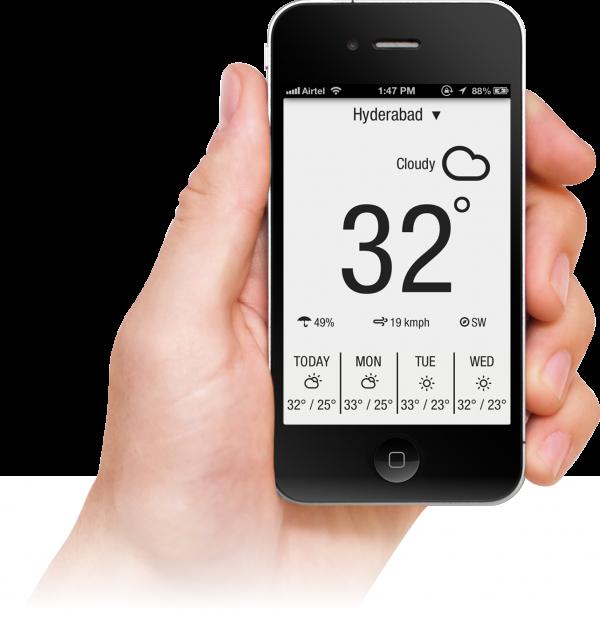 App Weather Neue