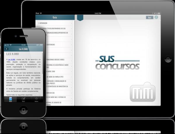 SUS para Concursos - iPad e iPhone