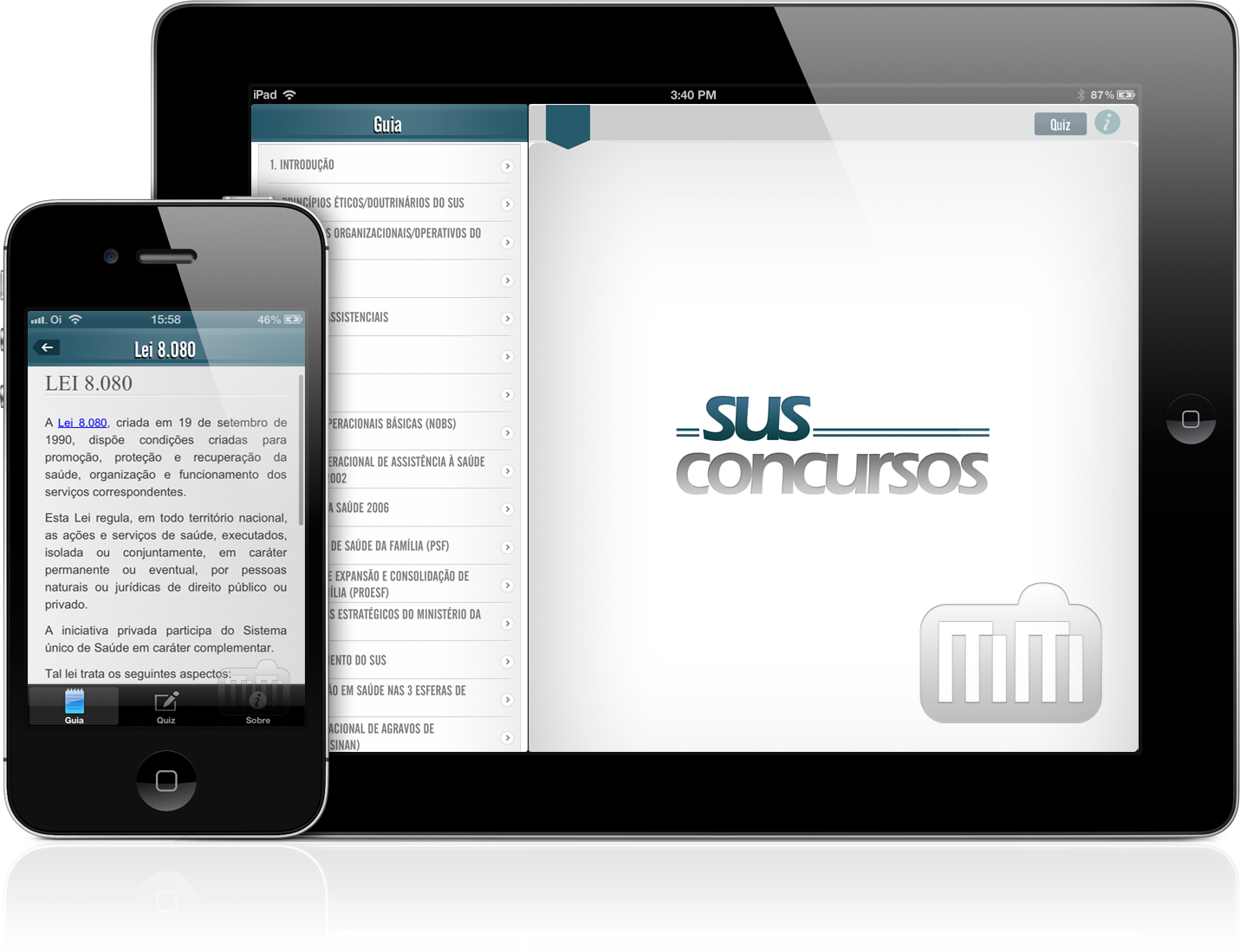 SUS para Concursos - iPad e iPhone