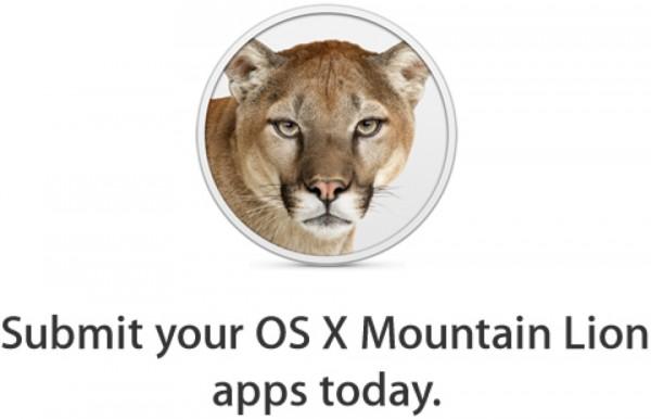 Enviar apps para o Mountain Lion
