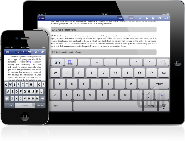 UX Write - iPhone e iPad