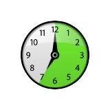 Ícone de relógio (bateria)