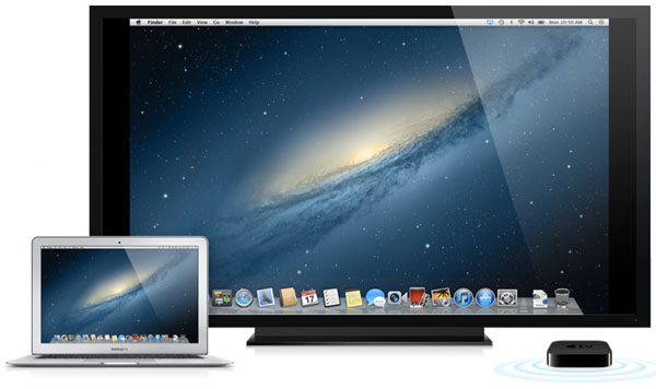 AirPlay Mirroring no OS X Mountain Lion